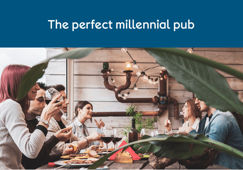 The perfect millennial pub