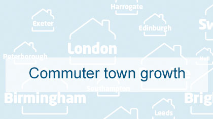 Commuter town growth