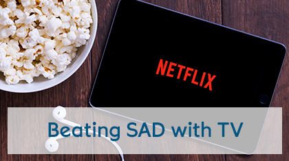 Beating SAD with TV